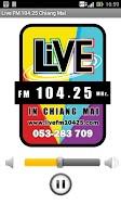 Screenshot of Live FM 104.25