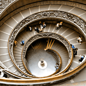 Eternal stairs by Manuela Dedić - Buildings & Architecture Other Interior ( humanity, building, stairs, rome, vatican,  )