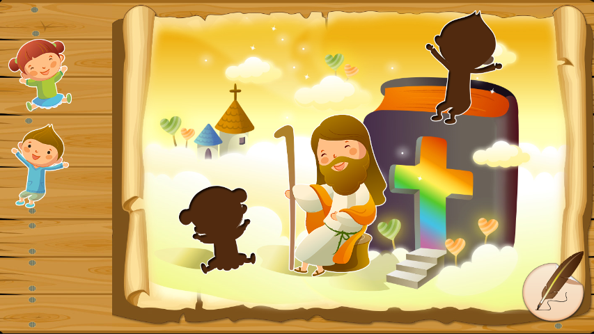 Bible puzzles for toddlers- screenshot