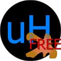 uHurl! FREE logo