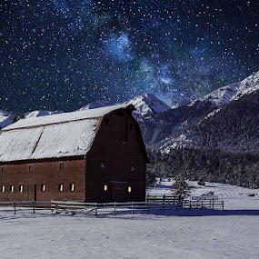 A night in the Wallowa's  by George Herbert - Buildings & Architecture Other Exteriors (  )