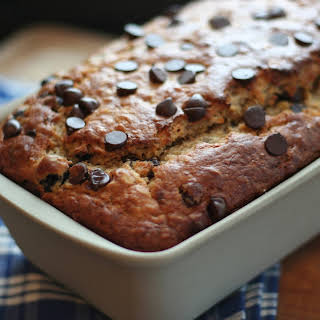 Blueberry Chocolate Chip Banana Oat Bread.