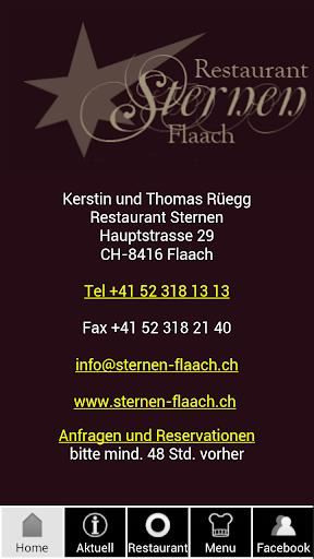 Restaurant Sternen Flaach