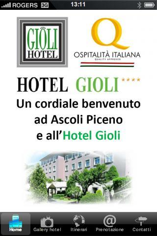 Hotel Gioli - screenshot