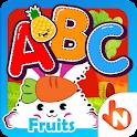 ABC Fruits English Flashcards icon