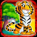 Jungle Tiger Match 3 Puzzle icon
