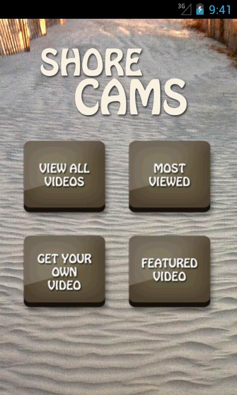 Shore Cams - screenshot