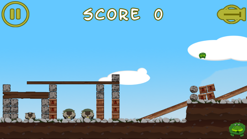 Battle Frogging Free- screenshot