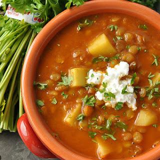 Madras Lentil Soup