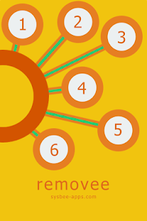 removee - a flat design puzzle - screenshot thumbnail