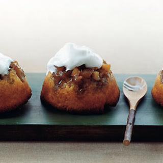 Apple Upside-Down Cornmeal Cakes