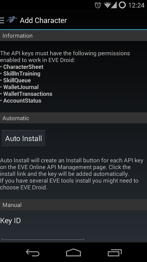EVE Droid BETA- screenshot