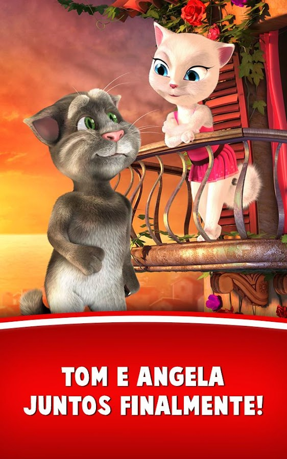 Tom ama Angela: captura de tela