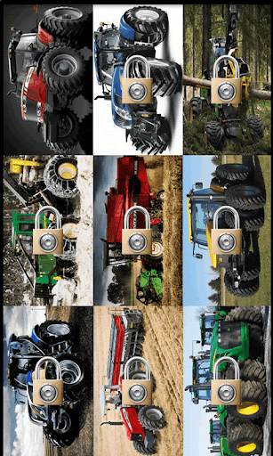 Puzzle super tractors