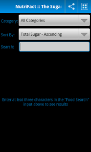 NutriFact :: Sugar - screenshot thumbnail