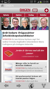 News and magazines Sweden - screenshot thumbnail