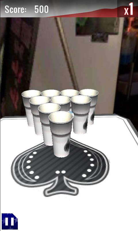 Beer Pong- screenshot