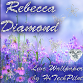Rebecca Diamond Live Wallpaper