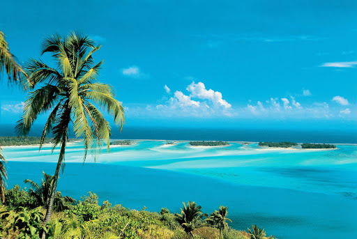 Bora_Bora_lagoon - Can you say wanderlust? Great sightseeing abounds for Paul Gauguin guests visiting Bora Bora.
