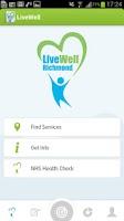 Screenshot of LiveWell Richmond