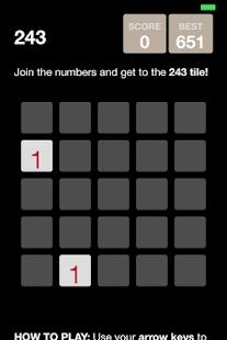 243 game - náhled