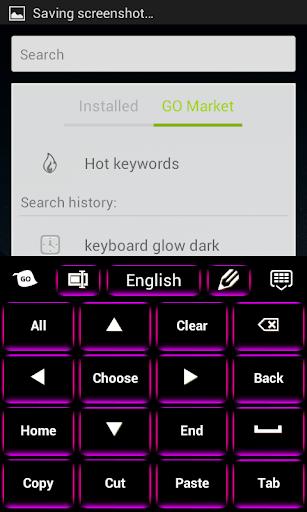 玩免費個人化APP|下載キーボードグローダーク app不用錢|硬是要APP