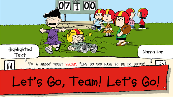 Snoopy's All Star Football- screenshot thumbnail