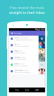 PingTune Music Messenger Screenshot 3