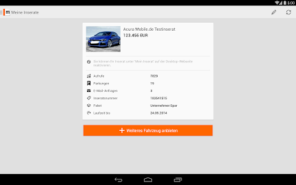 mobile.de – vehicle market Screenshot 32