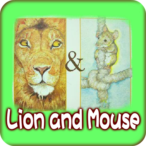 Lion and Mouse LOGO-APP點子