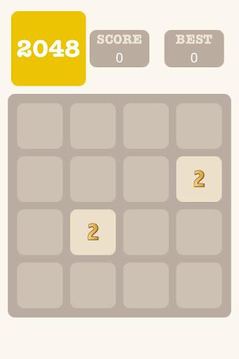 2048 Game - 8x8 Board