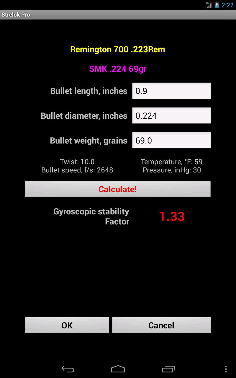 Strelok Pro Screenshot 19
