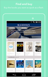 Blackwell's Bookshop screenshot