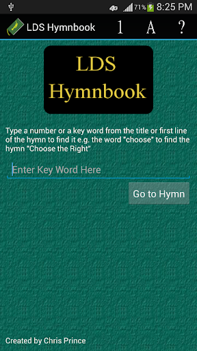 LDS Hymnbook