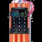 Countdown bomb icon