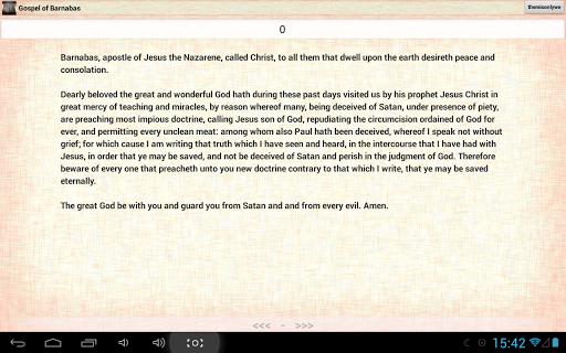 Gospel of Barnabas: Bible