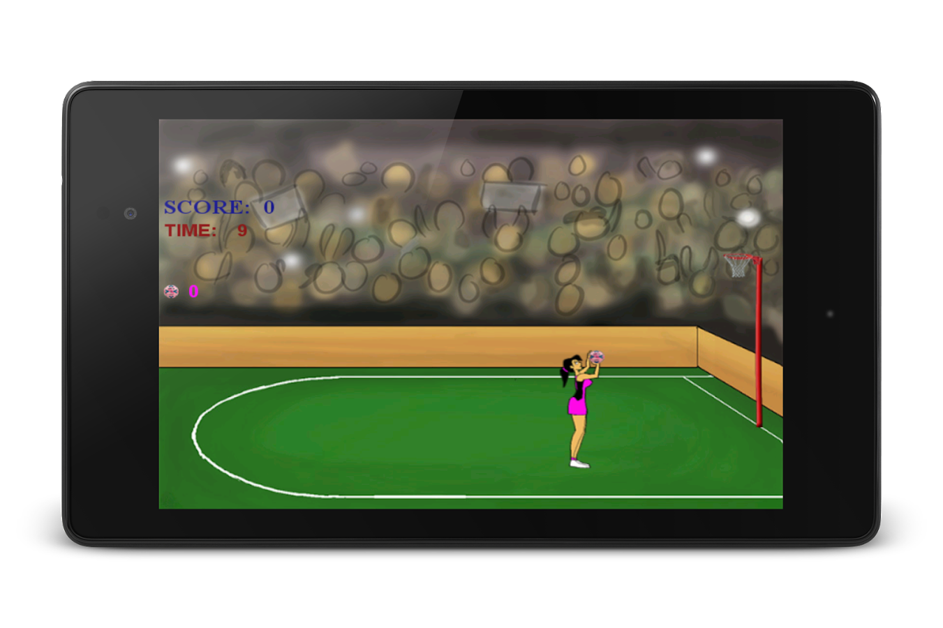 Netball Shots- screenshot