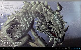 Screenshot of Skyrim Dragon Shouts Ringtone