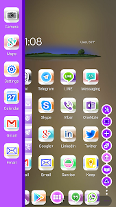 Swirl White Icon Pack Theme v1.3.0
