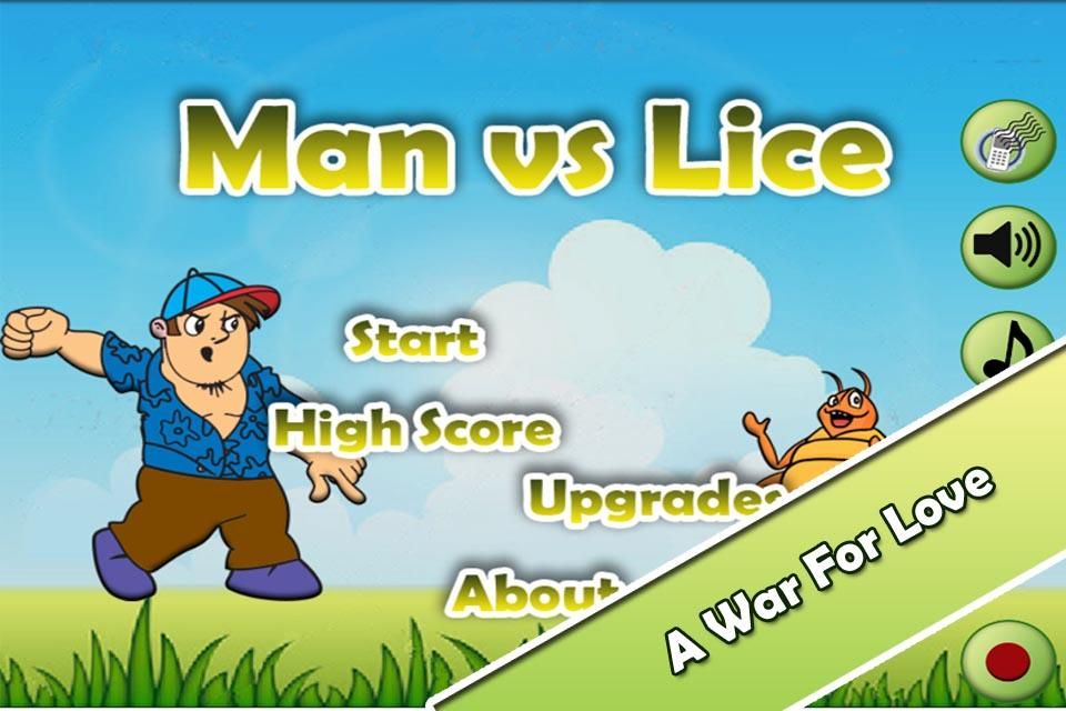 Funny Game - Man vs Lice PRO - screenshot
