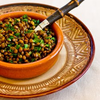 Indian Spiced Lentils.