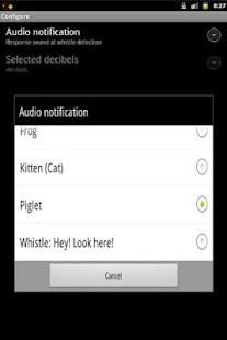 Whistle Droid Finder- screenshot thumbnail