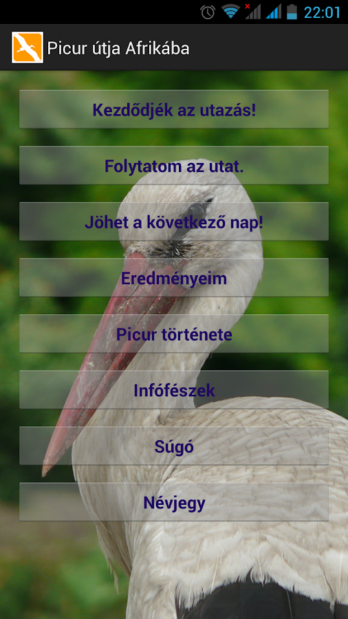 Picur útja Afrikába- screenshot
