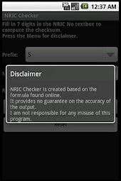 NRIC Checker