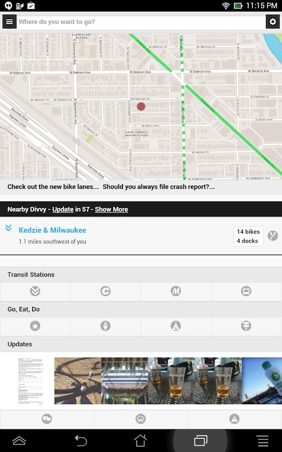 Chicago Bike Guide - screenshot