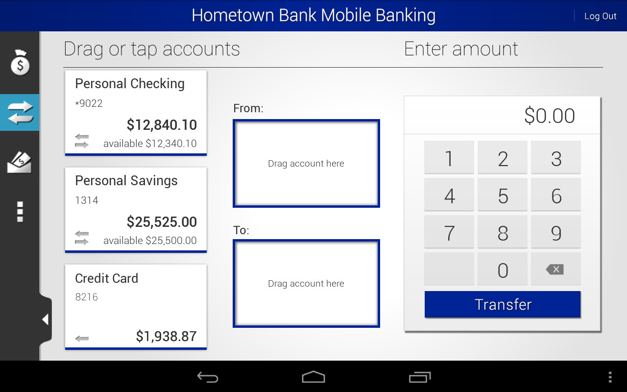 Hometown Bank Mobile Banking - screenshot