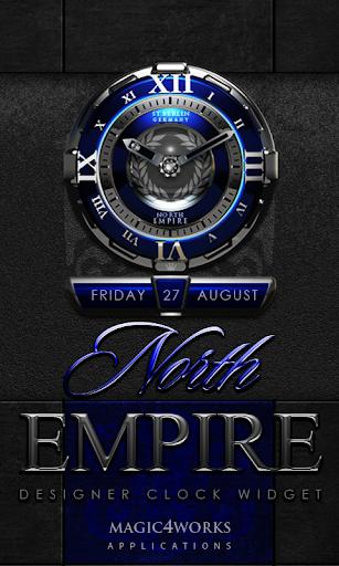 North Empire Clock Widget