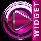 Poweramp Widget Pink Deluxe
