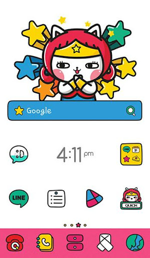 doodle family dodol theme
