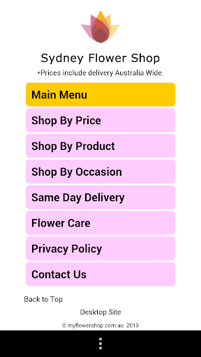 Sydney Florist Flower Shop